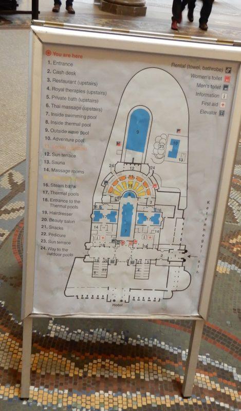 budapest gellert map